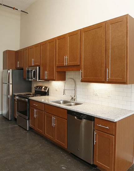 Modern Kitchens with Stainless Steel Appliances & Granite Countertops